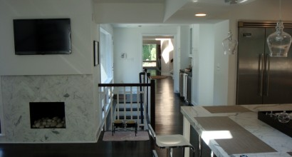 Indoor Stairway & Main Kitchen