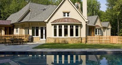 Pool & home patio