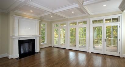 Living room & outdoor view