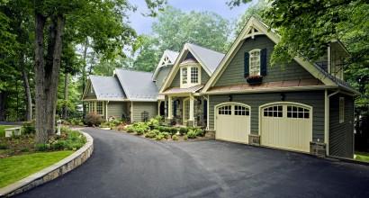 Front & garage