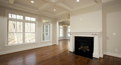 Main-Floor Central Fireplace