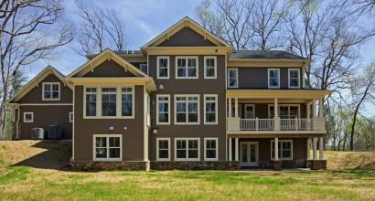 Transitional Home Exterior